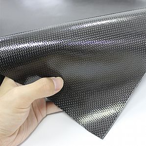 Carbon Fiber Leather Fabric