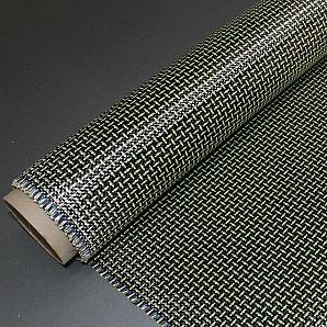 Carbon-Aramid Hybrid Fabric